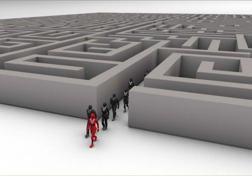 Leadership through a Maze